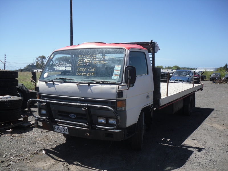 FORD - Taranaki Truck Dismantlers parts wrecking and dismantling New ...